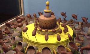 This Spinning Chocolate Cake Is The Trippiest  Thing You Will See Today