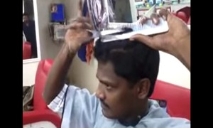 This Man From Kerala Might Be The Best Barber In The World. See For Yourself