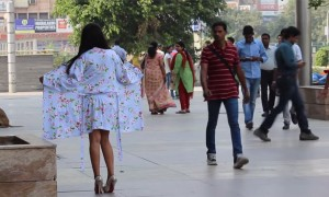 This Girl Did Something That Made The People Of Delhi Panic