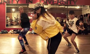 Watch A Dance Class Do An Epic Rendition Of 'Anaconda' By Nicki Minaj