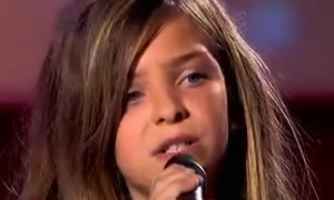 When This Little Girl Started To Sing Everyone's Jaw Dropped To The Floor