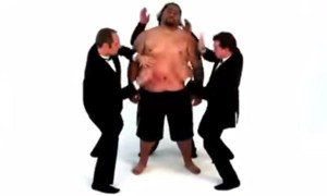 We Thoroughly Laughed And Enjoyed 3 Guys Beating Up This Fat Guy. You Will Too