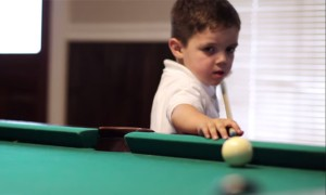 My Jaw Dropped To The Floor After Watching This 5 Year Old Kid Play Pool Like A Pro
