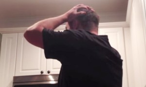 The Reaction This Husband Gives After Seeing A Bun In The Oven Is Absolutely Priceless!