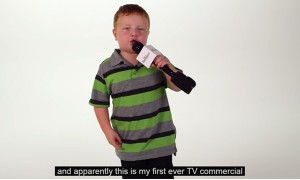 The 'Apparently Kid' Goes Big Time With His First Ever TV Commercial