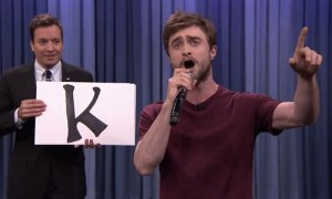 Daniel Radcliffe Rap Blackalicious' 'Alphabet Aerobics' And It's Downright Flawless!