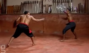 Watch As These Fighters From India Play With The World's Dangerous Sword