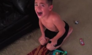 Watch Hilarious Reactions From These Kids When Their Parents Said They Ate All Their Halloween Candy