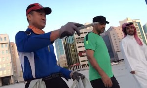 You Won't Believe What A Korean Millionaire Does In The Streets of Bahrain