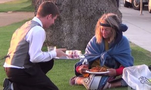 What This Guy Did For Some Homeless People Would Restore The Faith In Humanity