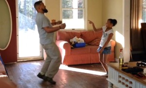 Dad-Daughter Duo Dance Off Is The Cutest Thing You Will See Today