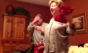 Son Gave The Best Christmas Gift Ever, Dad's Reaction? PRICELESS!