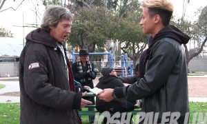 What This Homeless Guy Did With Hundred Dollar Left Me Speechless