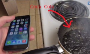 This Is What Happens When You Put An iPhone In Coca Cola
