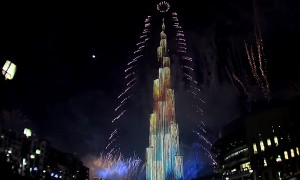 Video Proof That No City Celebrated The New Year Better Than Dubai