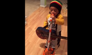 2 Year Old Bob Marley Impersonator Promises That Things Are Gonna Be Alright