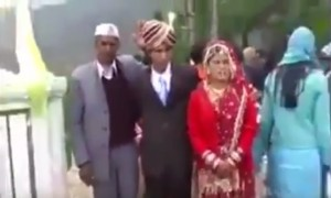 Watch how this Groom goes crazy after marriage. This epic performance will definitely steal your heart