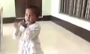 This little girl will amaze you with her singing talent, will make you smile for sure