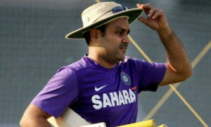Watch this amazing video of Virender Sehwag singing  Kishore Da's song while batting