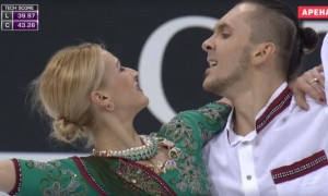 Watch the Russian Olympic Figure Skaters dancing on Bollywood song and they won
