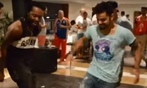 Watch Virat Kohli, Chris Gayle\'s dancing video ahead of India vs WI match