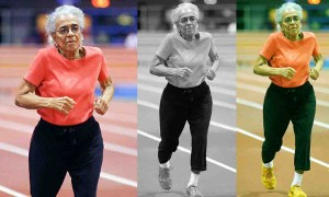 102 years old runner Ida Keeling setting up new records