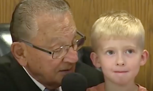 Judge Allows a Little Boy to Choose His Father's Punishment in Court.