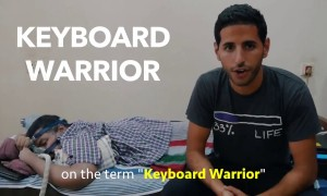 He's The Most Inspiring Man! Keyboard Warrior for a Reason
