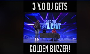 Meet The 3 Year Old DJ Who Shocked The Judges With His Talent