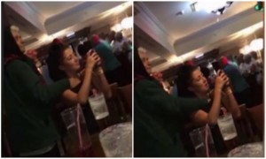 What? This Man Slid His Hand Inside A Girl's Top While She Was Busy Taking Pics