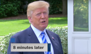 Trump Calls Kim Jong's Letter 'Very Nice' But 8 Minutes Later Says He Hasn't Opened It