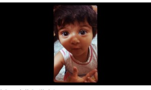 "Hear Her Ask Her Dad… ""Kya Hua Mere Bache"" And This Will Melt Your Heart"