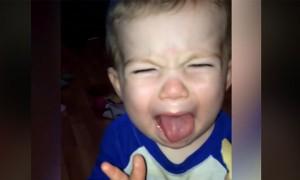 Cute Babies Reaction When They Taste Salt And Vinegar