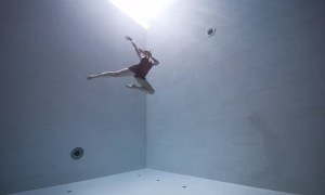 You Cannot Miss To Watch This Beautiful Underwater Choreography Performed In The World's Deepest Pool