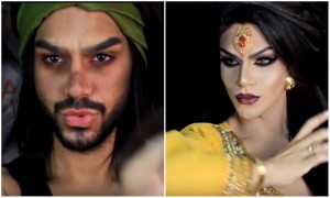 He Transforms From Aladdin To Jasmine In No Time And We Are Watching It On Loop!
