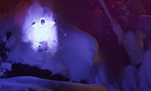This Night Skiing Video With LED Lightsuits Might Be The Coolest Thing You've Ever Seen Before