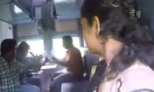 Girls, do you travel alone in train?: Then, please watch this ASAP