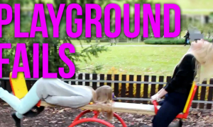 Funny Playground Fails Compilation!