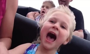 Kids React to Their First Rollercoaster