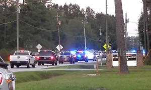 Heavy police presence on scene after one officer dead, six wounded in Florence, South Carolina shooting