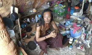 Thai 'caveman' boasts of seducing dozens of western backpackers