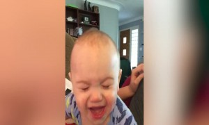Baby Pretends to Cry – But Mom Knows Better!