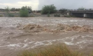 Mass Flash Flooding in Yuma Arizona
