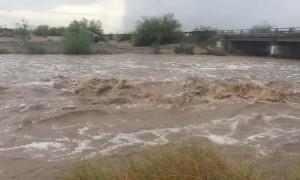 Mass Flash Flooding in Yuma Arizona
