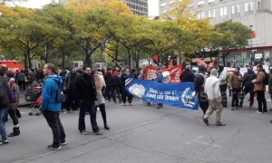 Thousands attend anti-racism protest in downtown Montreal