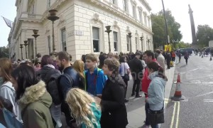Brazilians in London queue for hours outside embassy to vote in hotly contested presidential election