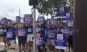 Nationwide demonstrations as protestors rally against postal services privatization