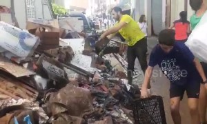 Majorca residents continue to clean up after deadly flash flooding