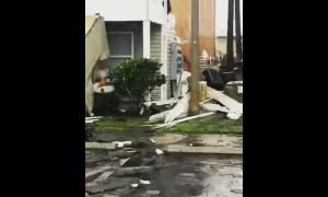 Scenes of devastation in Panama City, Florida