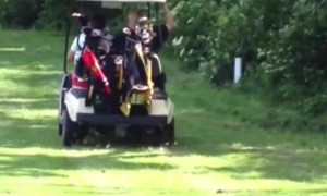 Golf Cart Drifting Fail